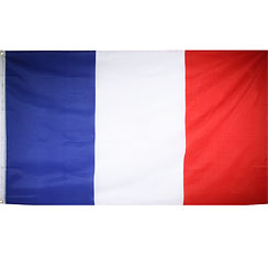 International Flag French Cloth Flag - 1.5m