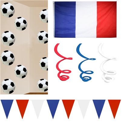 France Room Decorating Kit