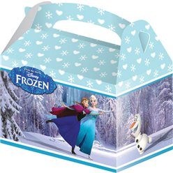 Disney Frozen Ice Skating Party Box - 15cm long