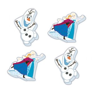Disney Frozen Ice Skating Erasers