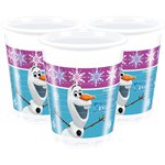 Disney Frozen Plastic Party Cups - 200ml