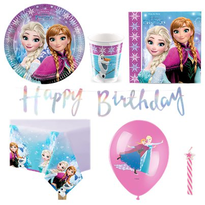 Disney Frozen Party Pack - Deluxe Pack for 8
