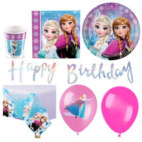 FROZEN 2 CUPS PACK OF 8 BIRTHDAY PARTY SUPPLIES