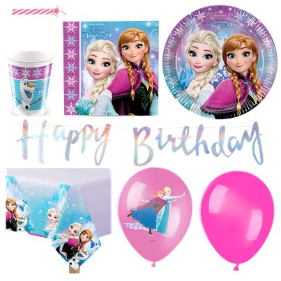 Disney Frozen Party Pack - Deluxe Pack for 16