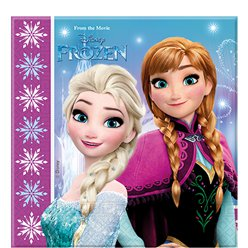 Disney Frozen Party Napkins - 2ply Paper