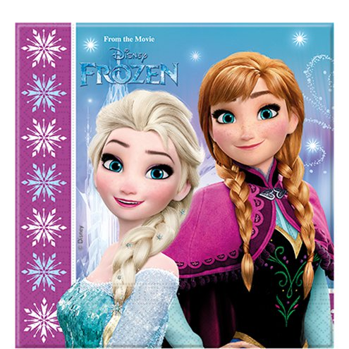 Disney FROZEN Girls Birthday Party Pack ~ Plates Cup Napkin ~ 8 Guests Anna Elsa