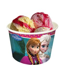 Disney Frozen Ice Cream Tubs