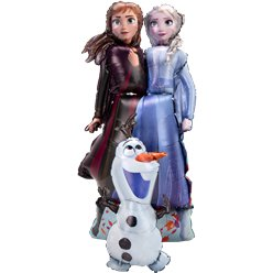 "Disney Frozen 2 Airwalker Balloon - 58"" Foil"