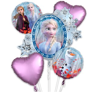 Disney Frozen 2 Balloon Bouquet - Assorted Foils