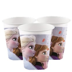 Disney Frozen 2 Paper Party Cups - 200ml