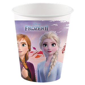 Frozen Compostable Paper Cups - 200ml
