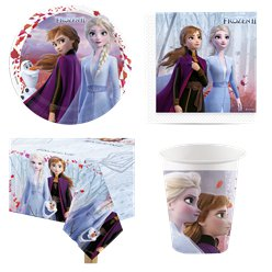 Disney Frozen 2 Party Pack - Value Pack For 8