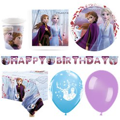 Disney Frozen 2 Party Pack - Deluxe Pack For 16