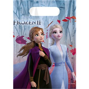 Disney Frozen 2 Party Bags - Plastic Loot Bags
