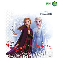 Frozen Compostable Lunch Napkins - 33cm