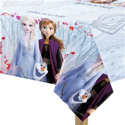 Disney Frozen 2 Plastic Tablecover - 1.2m x 1.8m