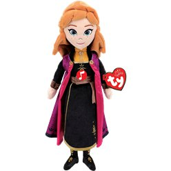 Frozen Anna TY Soft Toy with Sound
