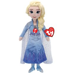Frozen Elsa TY Soft Toy with Sound