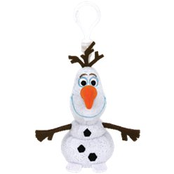 Frozen Olaf Beanie TY Clipper with sound