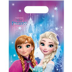 Disney Frozen Party Bags - Plastic Loot Bags