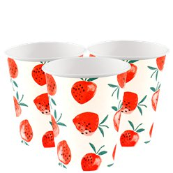 Strawberry Cups - 250ml