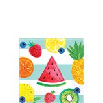 Fruit Salad Paper Cocktail Napkins - 25cm