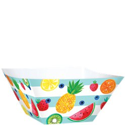 Fruit Salad Paper Serving Bowls - 30cm