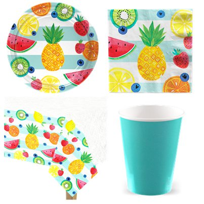 Tropical Fruit Party Pack - Value Pack For 8