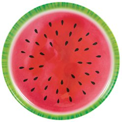 Fruit Salad Serving Plate - 34cm Plastic Platter