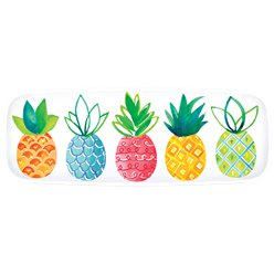 Fruit Salad Pineapple Print Serving Platter - 44cm x 16cm