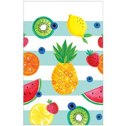 Fruit Salad Plastic Tablecover - 1.3m x 2.4m
