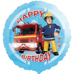 Fireman Sam Balloon - 18''