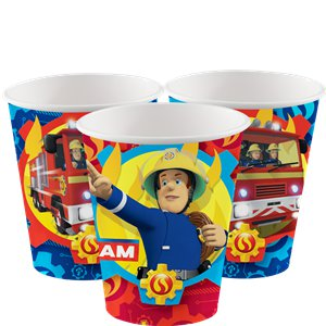 Fireman Sam - 266ml Paper Party Cup