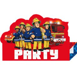Fireman Sam Invites & Envelopes