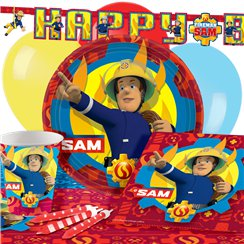 Fireman Sam Party Pack - Deluxe Pack for 8