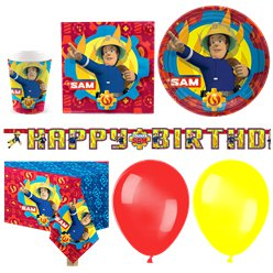 Fireman Sam Party Pack - Deluxe Pack for 16