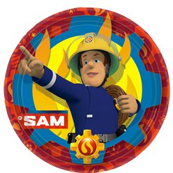 Fireman Sam - 23cm Paper Party Plates