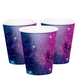 Galaxy Party Paper Cups - 266ml
