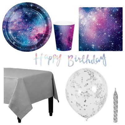 Galaxy Party Pack - Deluxe Pack for 8