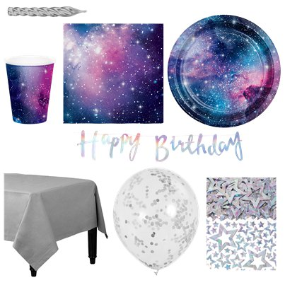 Galaxy Party Pack - Deluxe Pack for 16
