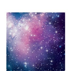 Galaxy Party Lunch Napkins - 32cm 2ply Paper
