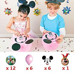 Mickey Mouse Party Game - Build Mickey's Head