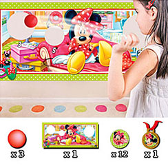 Minnie Mouse Party Game - Target Ball