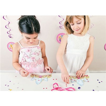 Disney Princess Party Game - Decorate a Tiara