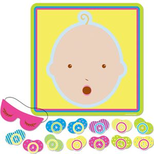 Baby Shower Pin The Dummy Game