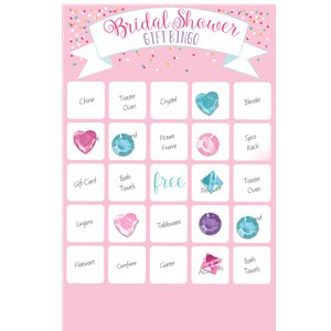 Bridal Show Bingo Game