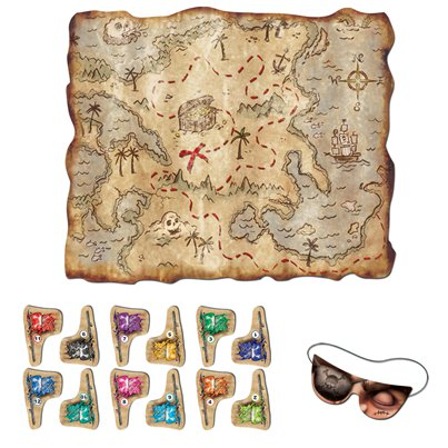 Pirate Treasure Map Game