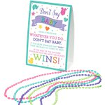 Baby Shower 'Don't Say Baby - Bead Necklace' Game
