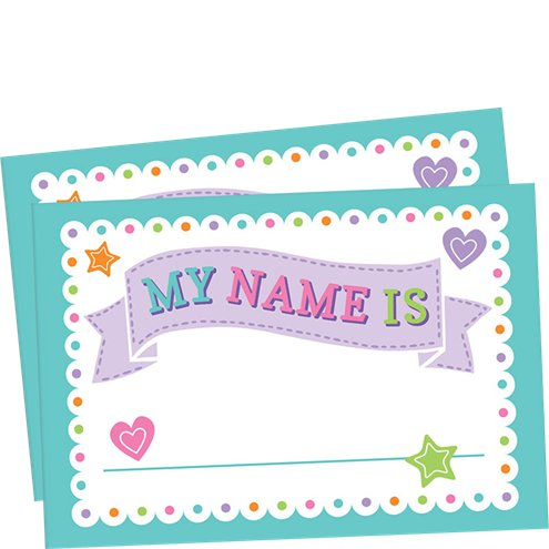 Baby Shower Name Tags Party Delights