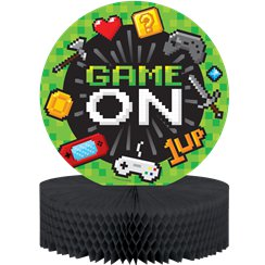 Game On Table Centrepiece - 30cm Honeycomb Decoration